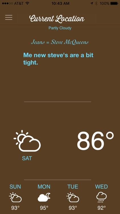Cockney Weather screenshot-4
