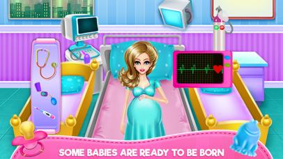 New Born Twins Caring Screenshot