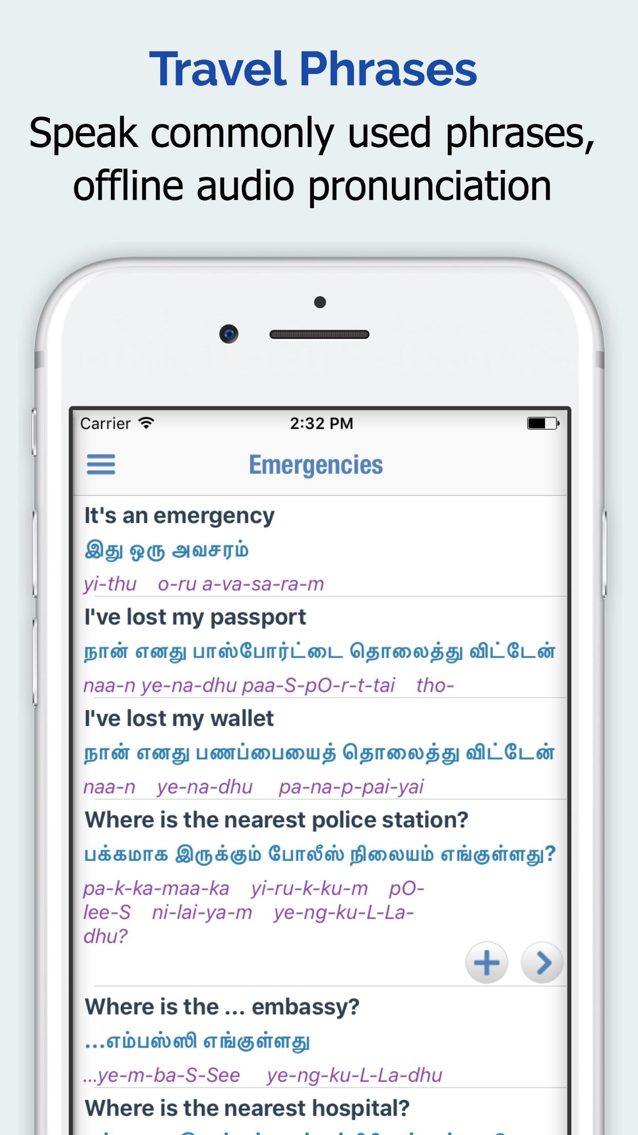 Tamil Dictionary + Screenshot