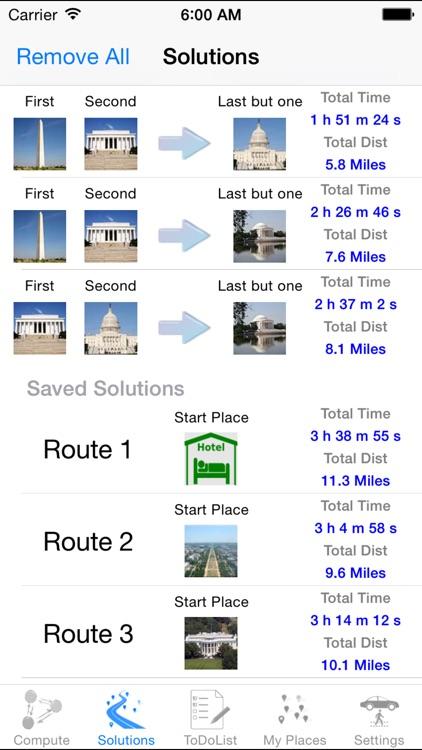 Optimal Route screenshot-3