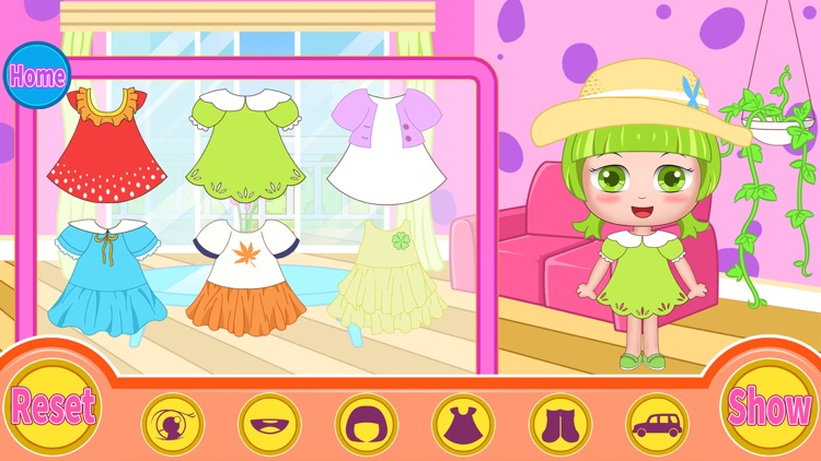 Bella's hair dress up salon screenshot-3