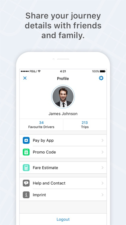 mytaxi – Book taxis in one tap screenshot-3
