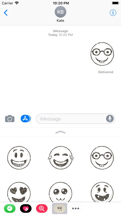 Hand Draw Emojis screenshot-4