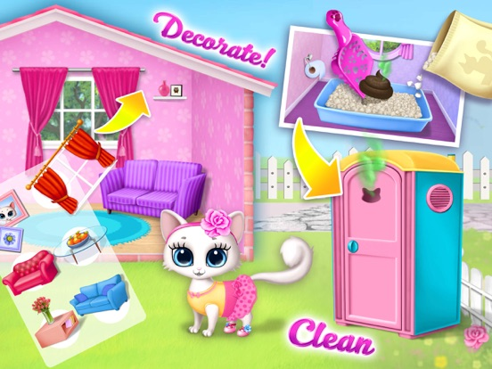 Игра Kitty Meow Meow - No Ads