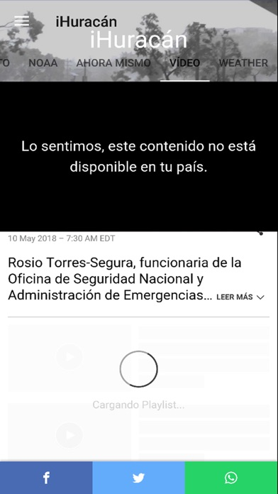 Screenshot for Rastreo de huracán in Peru App Store