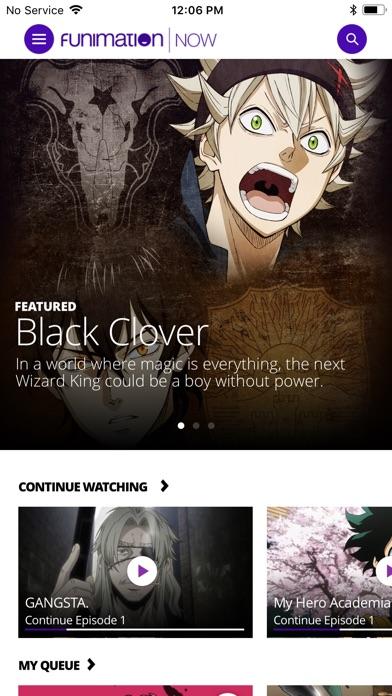 FunimationNow Screenshot