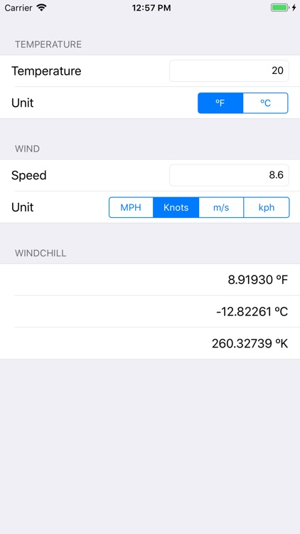 Windchill Temperature screenshot-4