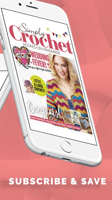 Screenshot for Simply Crochet Magazine in United States App Store