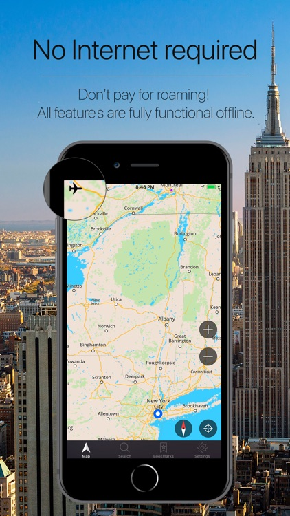 New York Offline Navigation