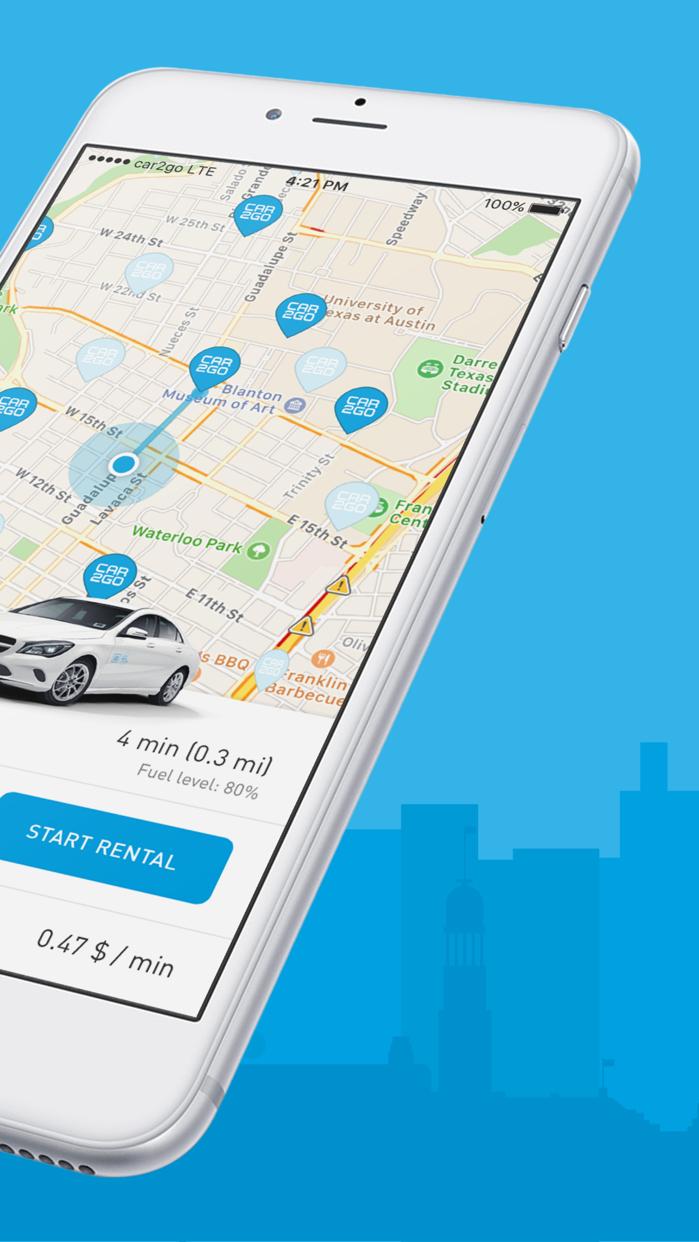 car2go Screenshot