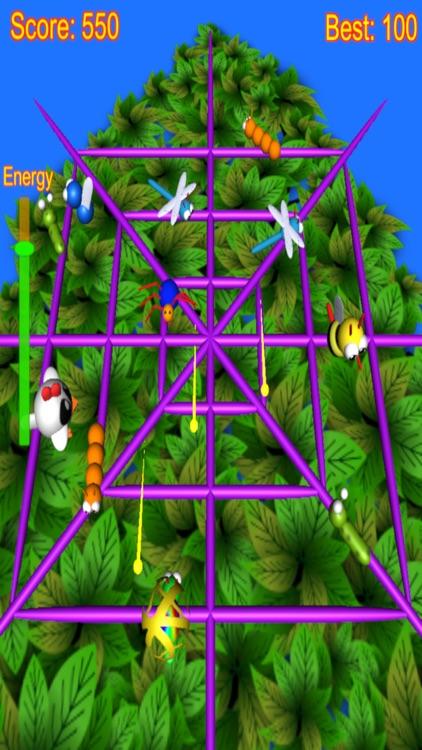 Spider Attack arcade game screenshot-3