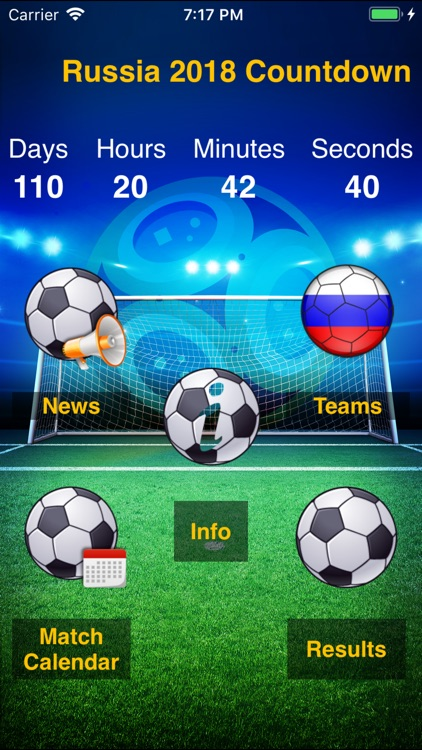World Cup App 2018: Russia