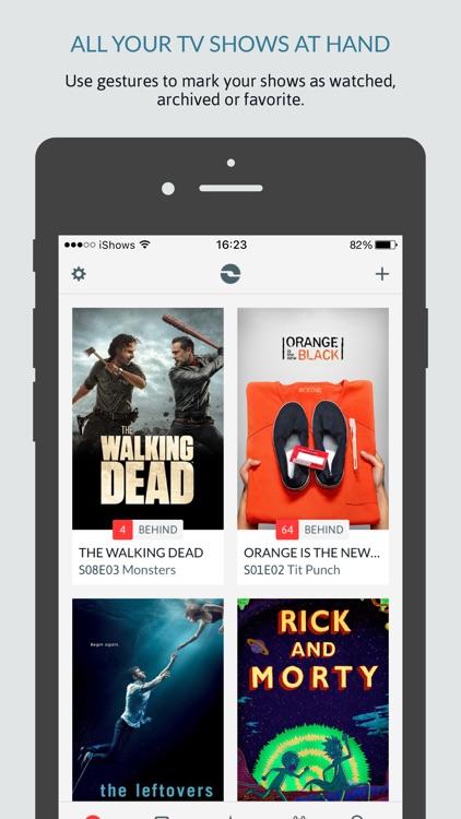 iShows TV powered by Trakt.tv screenshot-0