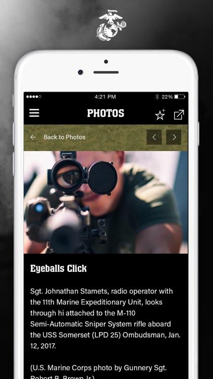 MarinesMobile® screenshot-3