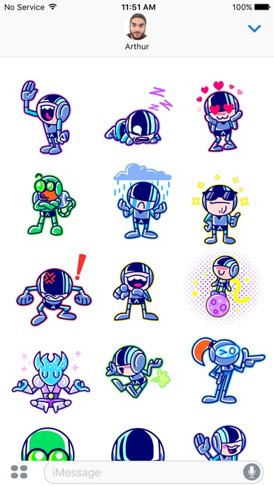 Iron Marines Stickers screenshot 3