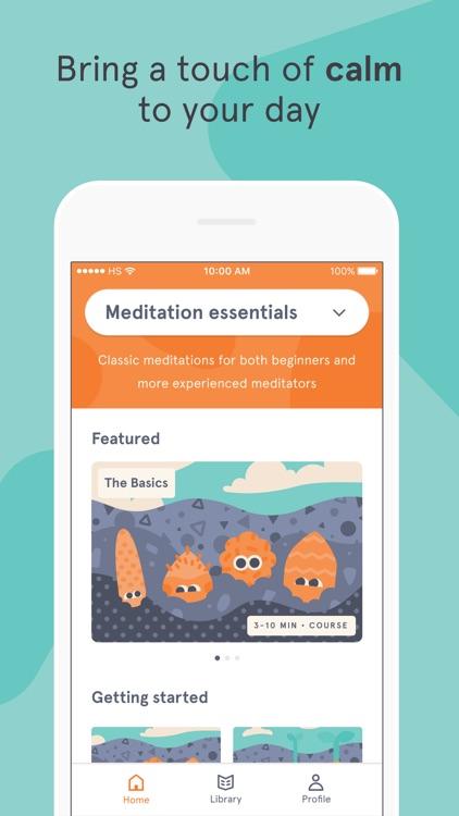 Headspace: Meditation screenshot-3
