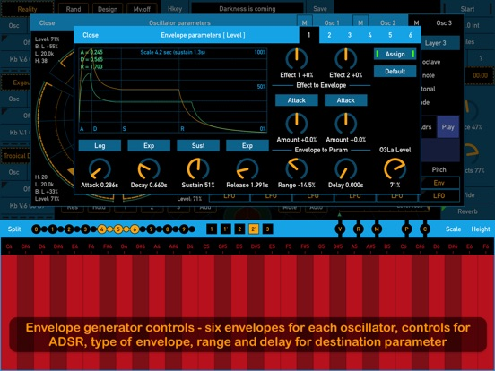 Screenshot #4 for SynthScaper