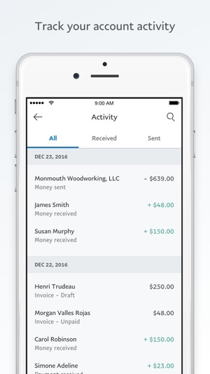 PayPal BusinessSend Invoices On The App Store - How to create an invoice on paypal mobile for service business