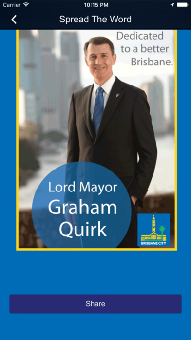 Lord Mayor Graham Quirk screenshot two