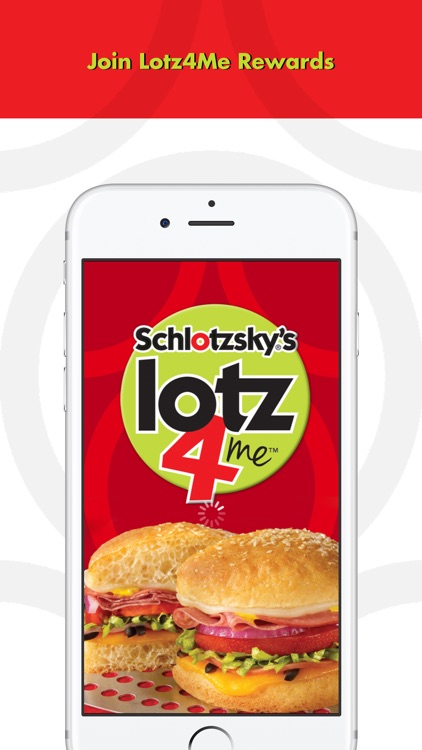 Schlotzsky's Lotz4Me Guest Rewards Program