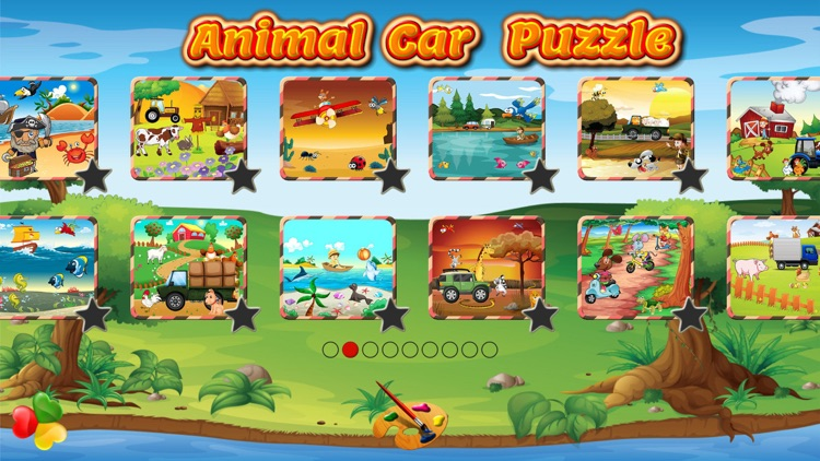 Animal Car Games: Cute Puzzles for Kids & Toddlers screenshot-0