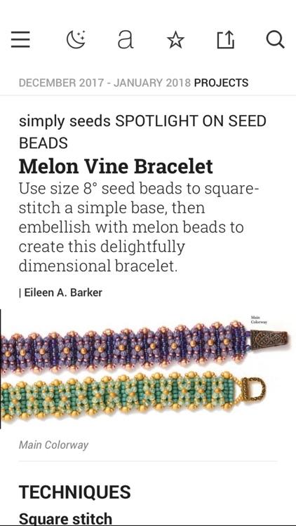 Beadwork Magazine screenshot-3