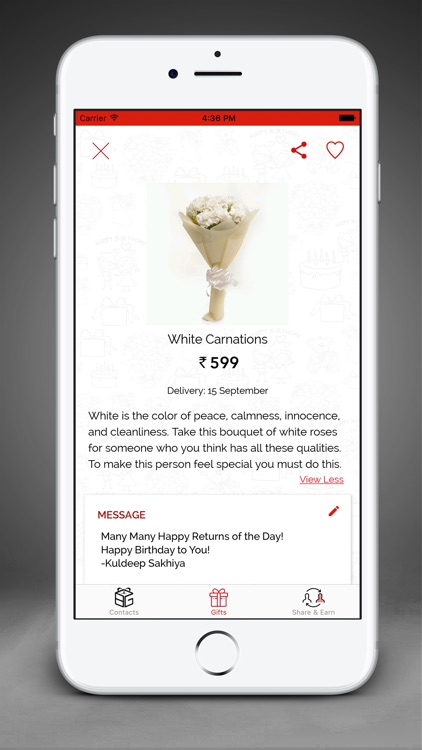 Birthday Gift App