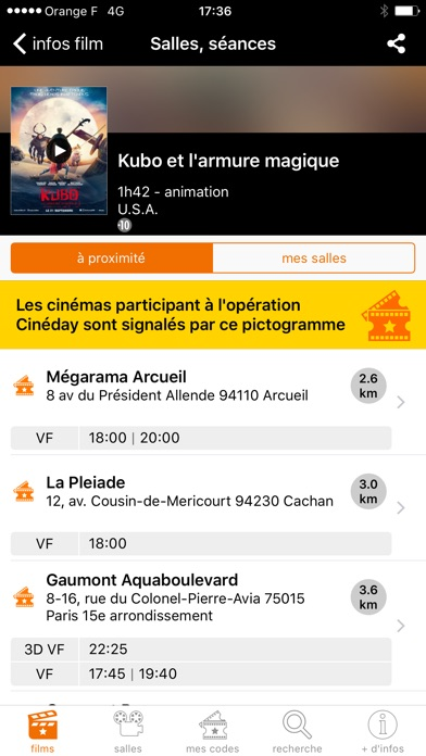 download Orange Cinéday apps 1