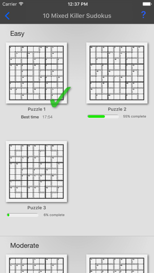 Killer Sudoku + on the App Store
