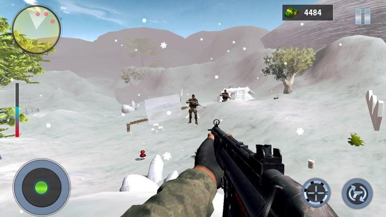 Snow Mountain Sniper Shooting screenshot-3