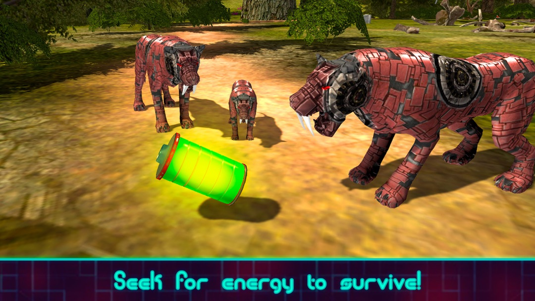 Tiger Robot Survival Simulator - Online Game Hack and Cheat