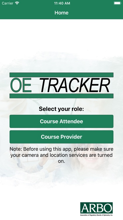 OE TRACKER attendance app screenshot-0