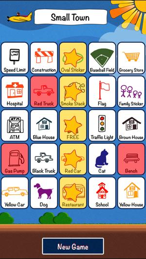 Travel Bingo gameplay