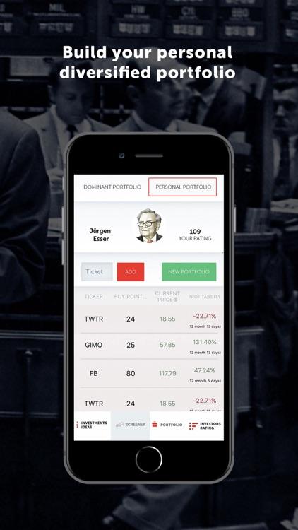 Dominant investors screenshot-3