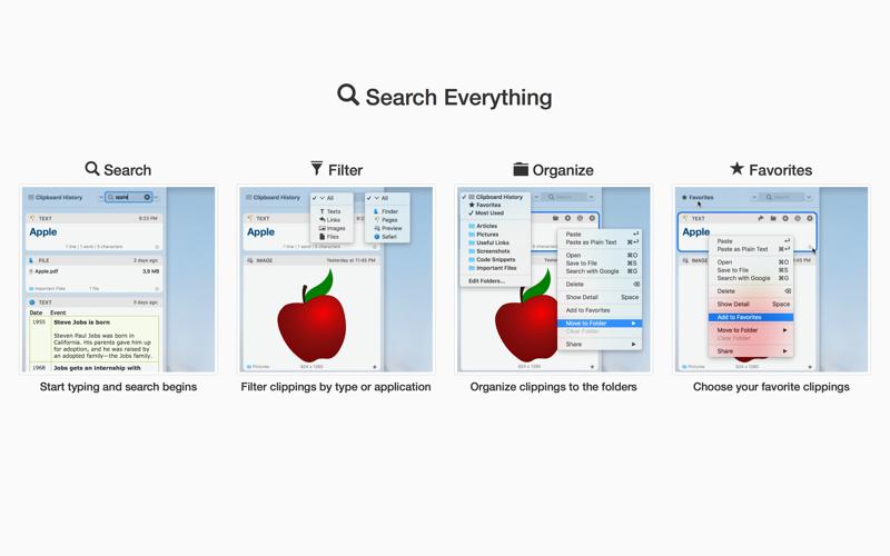 Clipboard Manager Screenshots