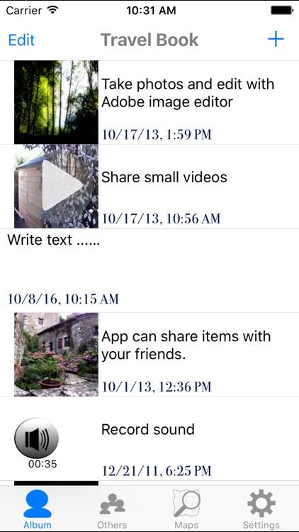 Travel Book screenshot-0