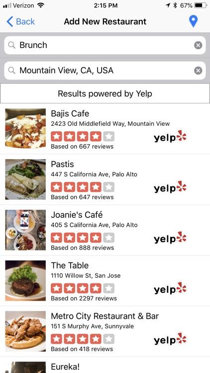 My Restaurant Journal screenshot-3
