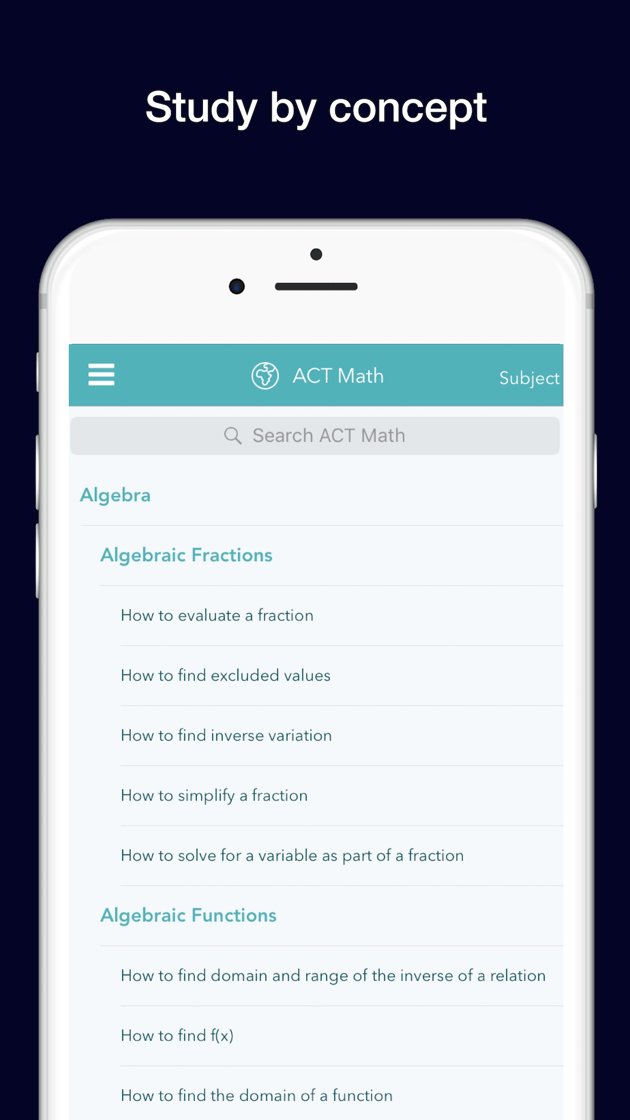 ACT: Practice,Prep,Flashcards Screenshot