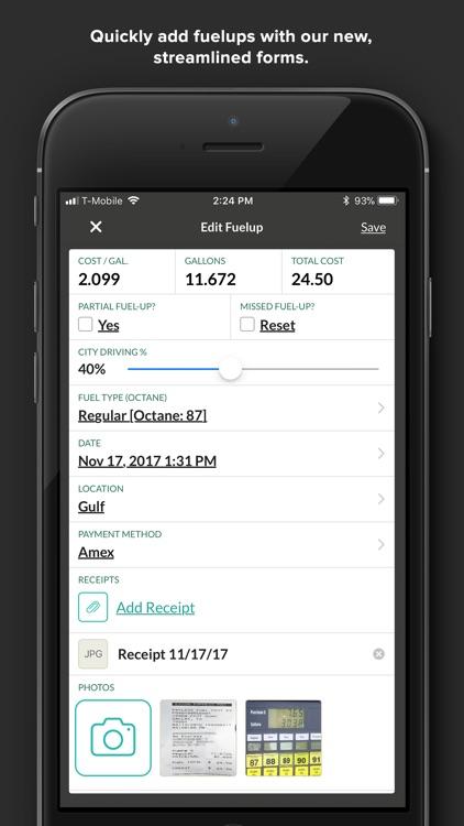 Fuelly - MPG, Mileage, Service screenshot-4