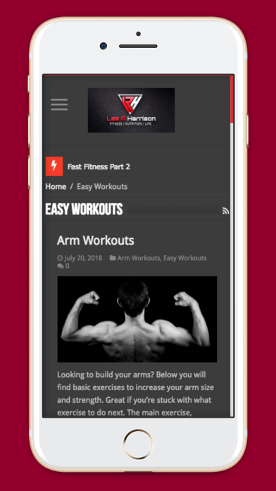 LRH Fitness screenshot four