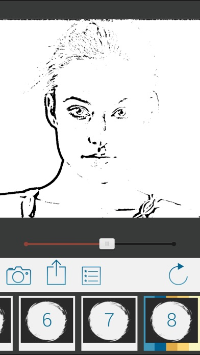 Screenshot #3 for Photo To Pencil Sketch Drawing
