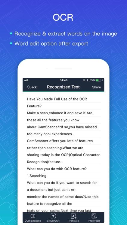 Camscanner|Document Scan & Fax screenshot-4