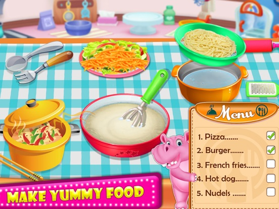 Little HIPPO - Cooking Chef screenshot 8