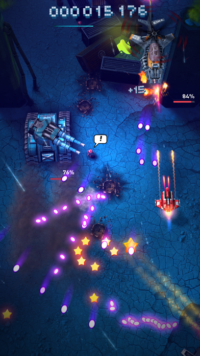 Screenshot from Sky Force Reloaded