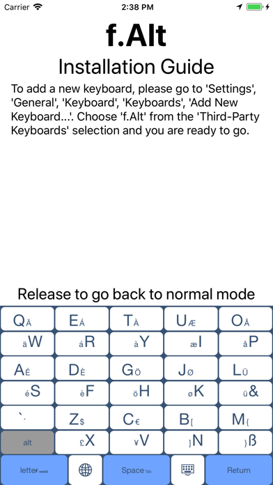 "f.Alt - A Variant of ""Alt"" screenshot three"
