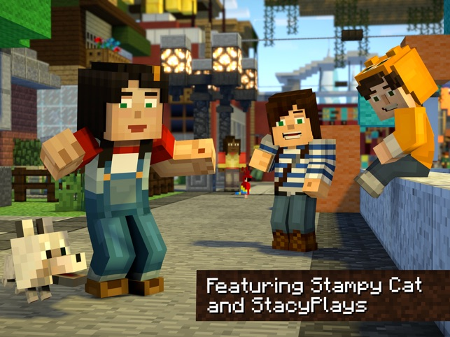 Minecraft Story Mode S On The App Store - Minecraft spiele furs handy