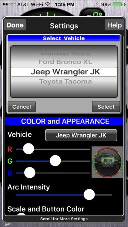 Vehicle Clinometer screenshot-4