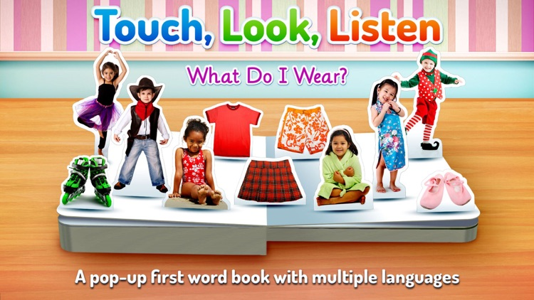 What Do I Wear? ~ Touch, Look, Listen screenshot-0