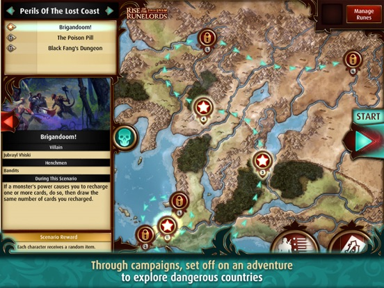 Screenshot #5 for Pathfinder Adventures