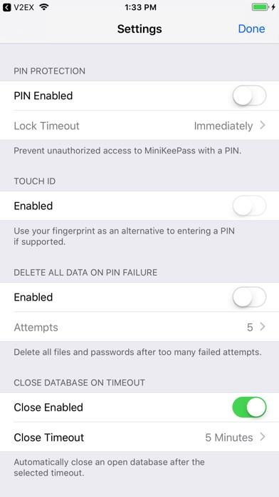 MyKeePass™ screenshot